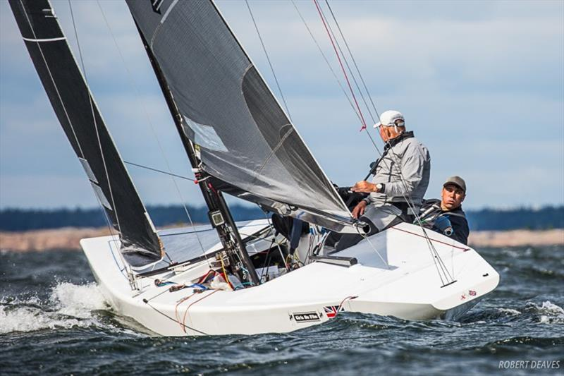 Day 2 of the 5.5 Metre World Championship 2019 - photo © Robert Deaves
