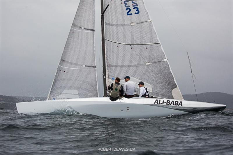 Ali Baba - 5.5 Metre Scandinavian Gold Cup 2020 - photo © Robert Deaves