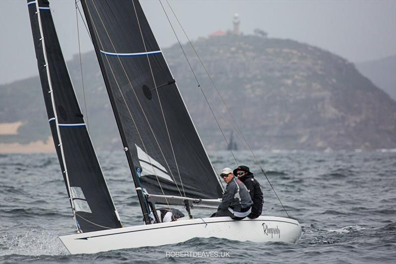 Rhapsody - 5.5 Metre Scandinavian Gold Cup 2020 - photo © Robert Deaves