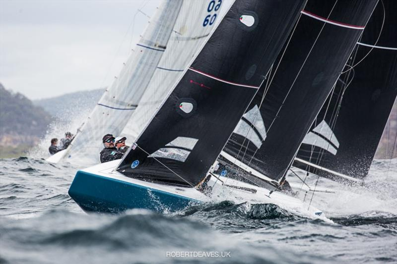 New Moon II - 2020 International 5.5 Metre World Championship, day 1 - photo © Robert Deaves