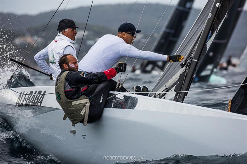 Ali Baba - 2020 International 5.5 Metre World Championship, day 1 - photo © Robert Deaves