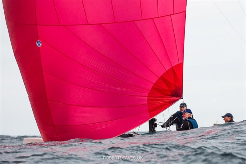 Ku-Ring-Gai - 2020 International 5.5 Metre World Championship, day 1 - photo © Robert Deaves