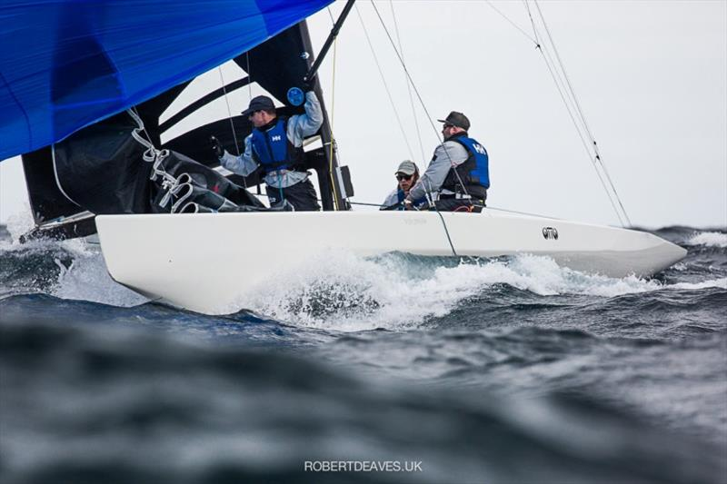 Otto - 2020 International 5.5 Metre World Championship, day 1 - photo © Robert Deaves
