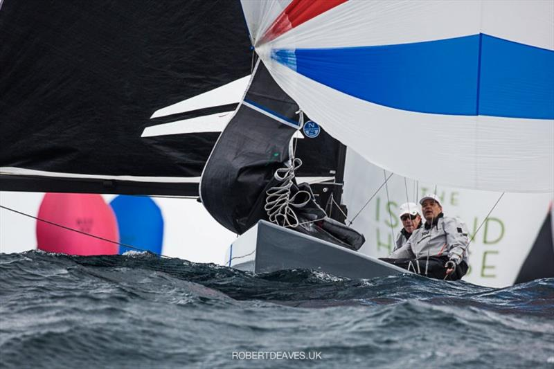 Artemis XIV - 2020 International 5.5 Metre World Championship, day 1 - photo © Robert Deaves