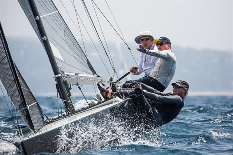 Black Magic - 2020 International 5.5 Metre World Championship, day 2 - photo © Robert Deaves