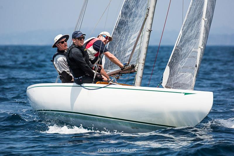Antares - 2020 International 5.5 Metre World Championship, day 2 - photo © Robert Deaves