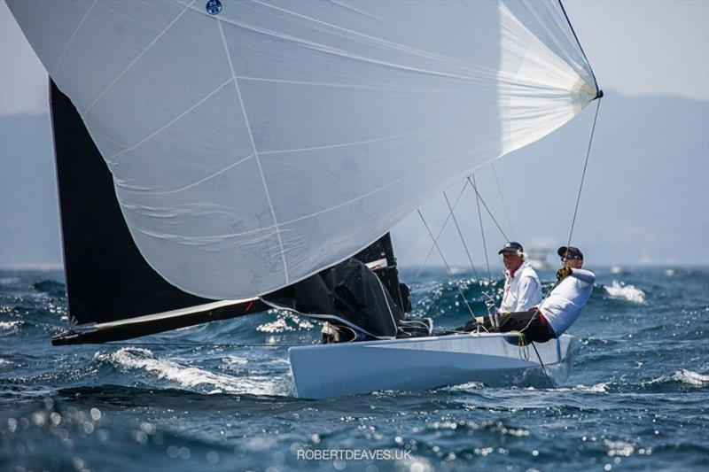 Ali Baba - 2020 International 5.5 Metre World Championship, day 2 - photo © Robert Deaves