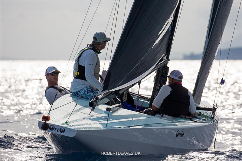 Otto - 5.5 European Championship photo copyright Robert Deaves taken at Yacht Club Sanremo and featuring the 5.5m class