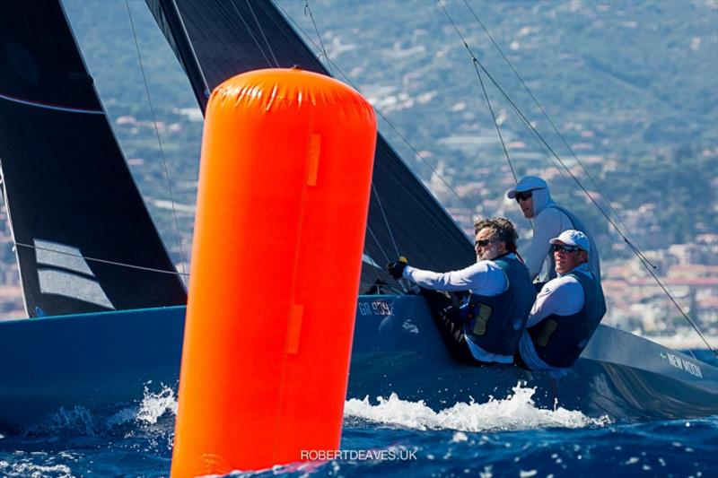 3rd - New Moon - 5.5 Metre European Championship 2020 photo copyright Robert Deaves taken at Yacht Club Sanremo and featuring the 5.5m class