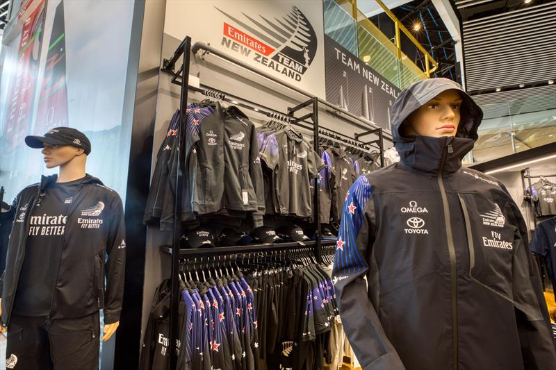 Just landed! New Emirates Team New Zealand supporter range in-store and online now. - photo © Emirates Team New Zealand Shop