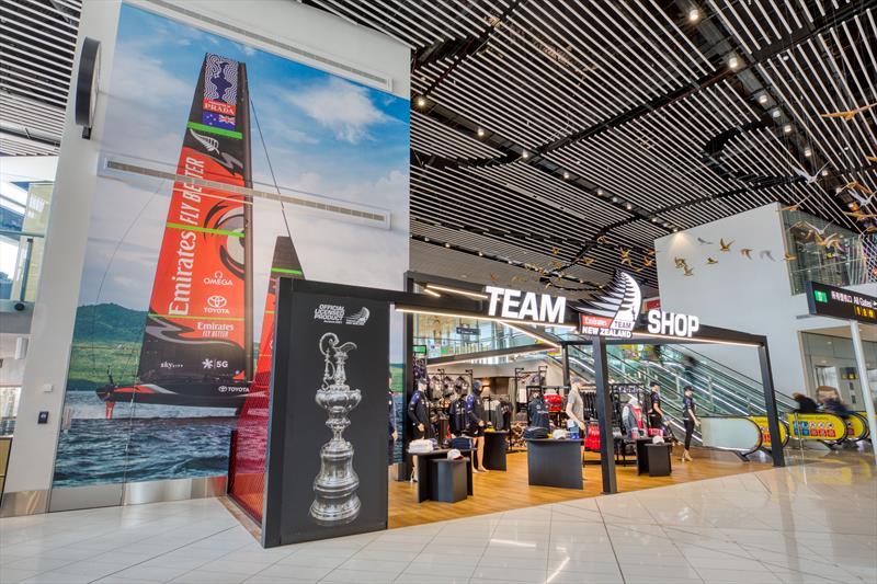 Emirates Team New Zealand Shop - Auckland Airport store  - photo © Emirates Team New Zealand Shop