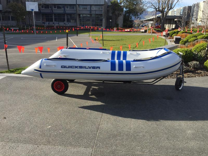 The refurbished RIB for Pleasant Point Sailing Club - photo © Pleasant Point SC