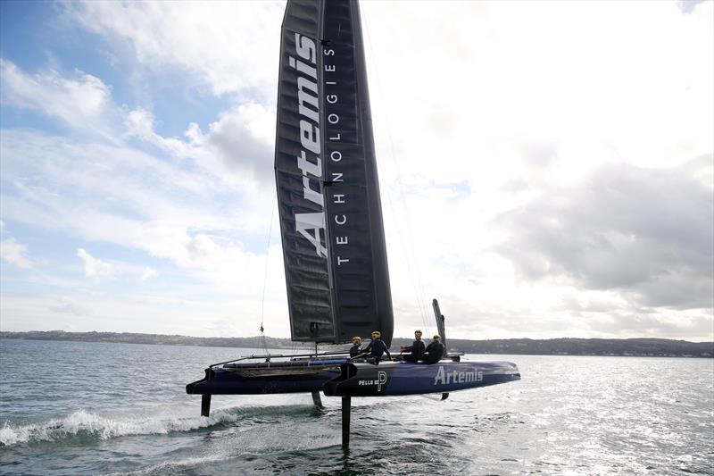 SailGP: Artemis Technologies unveils new sailing simulator