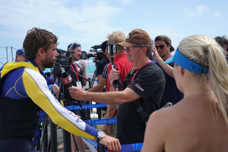 Will the stars of Bermuda have the media pulling power outside of the America's Cup- 2017 America's Cup Bermuda - photo © Scott Stallard