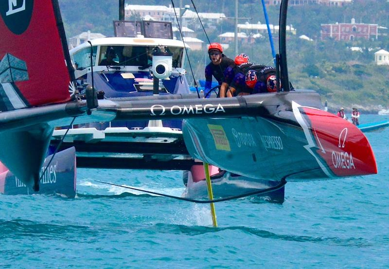 A substantial and expensive media team will be required if the World Series of Sailing is to get the coverage and impact - 2017 America's Cup Bermuda - photo © Scott Stallard