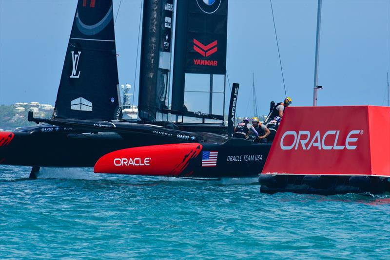 Oracle Corporation were strong supporters of the 35th America's Cup - 2017 America's Cup Bermuda - photo © Scott Stallard