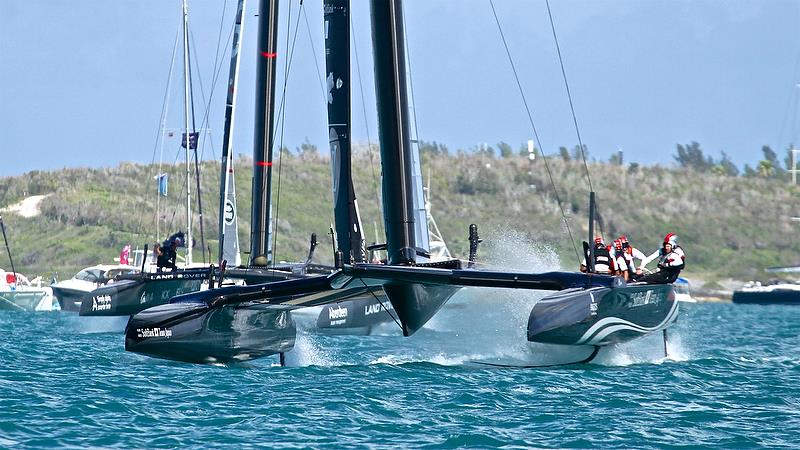 Land Rover BAR - Race 6 - Qualifiers - Day 1, 35th America's Cup, Bermuda, May 27, 2017 - photo © Richard Gladwell