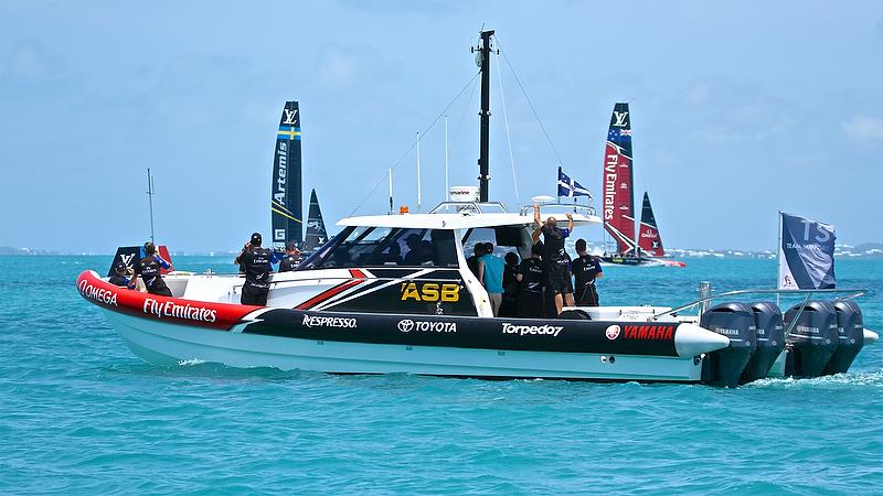Pre-start, Round Robin2, America's Cup Qualifier - Day 4, May 30, 2017 - photo © Richard Gladwell