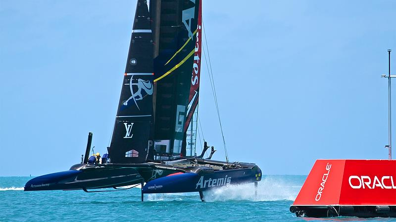Artemis Racing, Leg 3, Race 1 - Round Robin2, America's Cup Qualifier - Day 4, May 30, 2017 - photo © Richard Gladwell