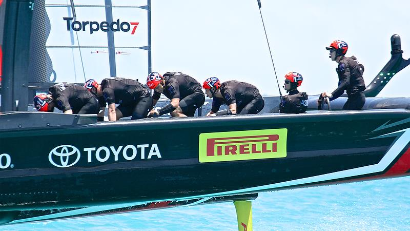 Emirates Team New Zealand - Round Robin 2, Day 4 - 35th America's Cup - Bermuda May 30, 2017 - photo © Richard Gladwell