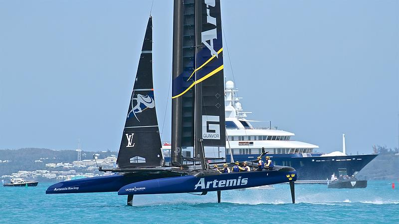 Artemis Racing - Leg 7 - Race 11 - Round Robin2, America's Cup Qualifier - Day 7, June 2, 2017 (ADT) - photo © Richard Gladwell