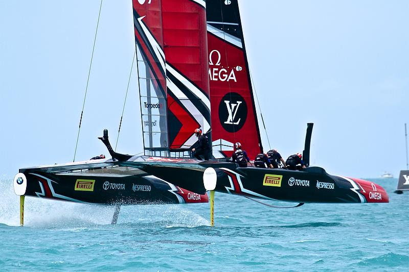 Emirates Team New Zealand - Round Robin 2, Day 7 - 35th America's Cup - Bermuda June 2, 2017 - photo © Richard Gladwell