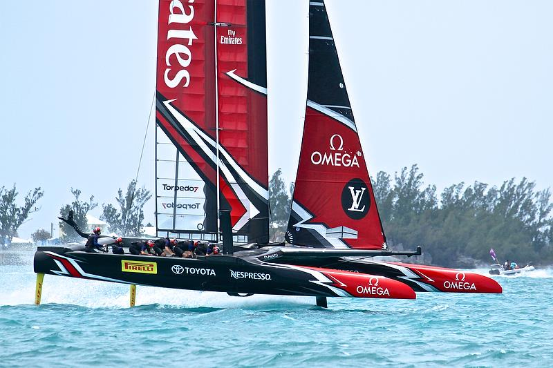 Emirates Team New Zealand - Leg 1, Round Robin 2, Day 7 - 35th America's Cup - Bermuda June 2, 2017 - photo © Richard Gladwell