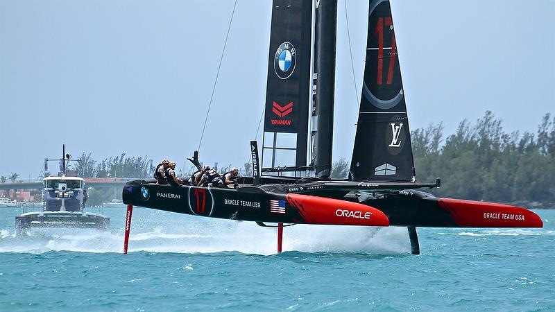 Oracle Team USA - Race 9 - Round Robin2, America's Cup Qualifier - Day 7, June 2, 2017 (ADT) - photo © Richard Gladwell