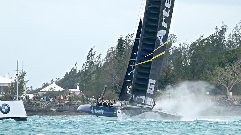 Artemis Racing - Leg 3 - Race 3 - Semi-Finals, America's Cup Playoffs- Day 10, June 5, 2017 (ADT) - photo © Richard Gladwell