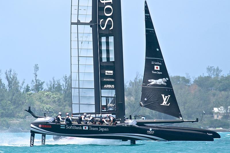 Leg 1 - Softbank Team Japan- Semi-Finals, Day 12 - 35th America's Cup - Bermuda June 9, 2017 - photo © Richard Gladwell