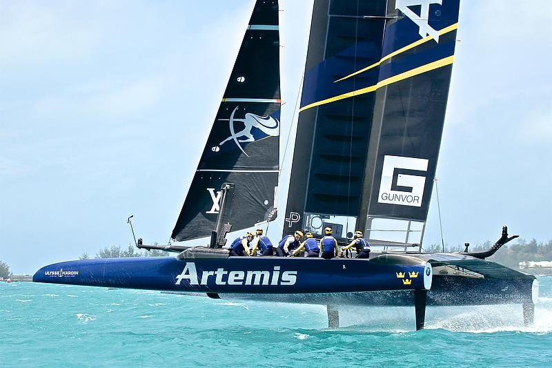 Artemis Racing - Semi-Finals, Day 12 - 35th America's Cup - Bermuda June 9, 2017 - photo © Richard Gladwell
