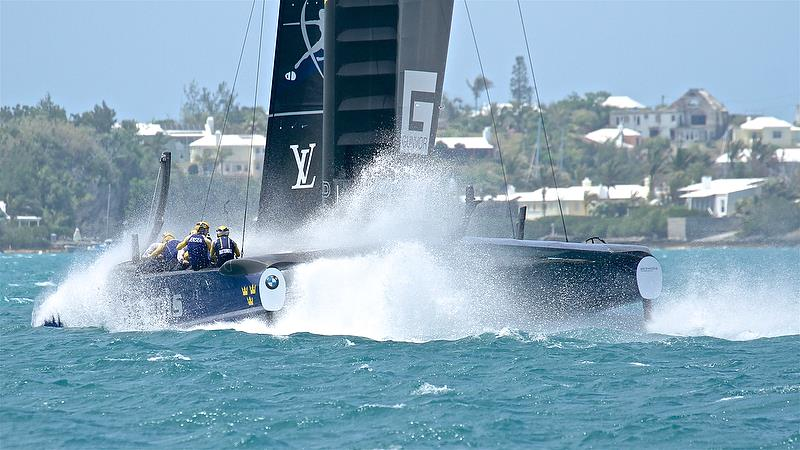 Artemis Racing - Leg 4 - Semi-Finals, America's Cup Playoffs- Day 13, June 9, 2017 (ADT) - photo © Richard Gladwell