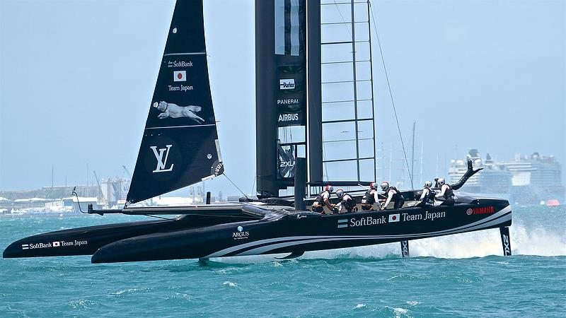 Softbank Team Japan - Leg 4- Semi-Finals, America's Cup Playoffs- Day 13, June 9, 2017 (ADT) - photo © Richard Gladwell