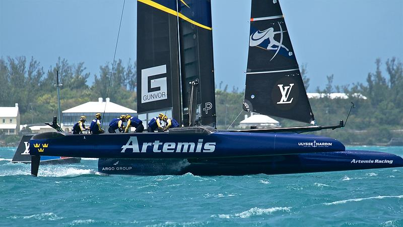 Artemis Racing - Leg 1 - Semi-Finals, America's Cup Playoffs- Day 13, June 9, 2017 (ADT) - photo © Richard Gladwell