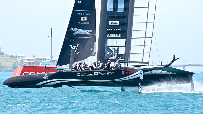 Softbank Team Japan - Leg 4 - Semi-Finals, America's Cup Playoffs- Day 13, June 9, 2017 (ADT) - photo © Richard Gladwell