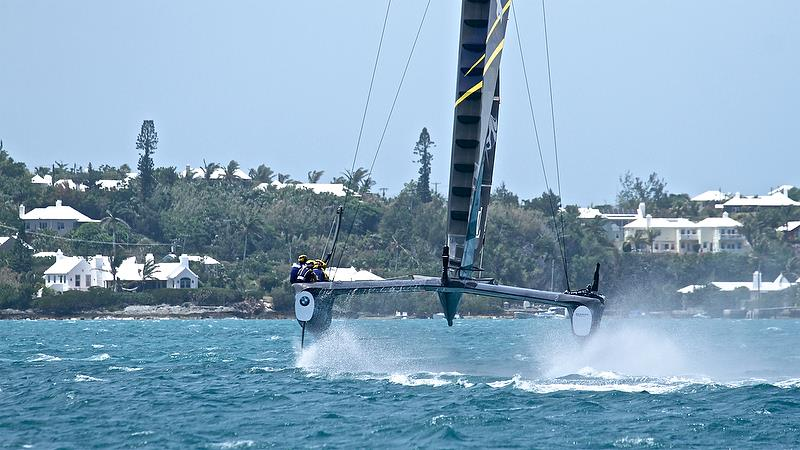 Artemis Racing - Leg 4 - Semi-Finals, Day 12 - 35th America's Cup - Bermuda June 9, 2017 - photo © Richard Gladwell