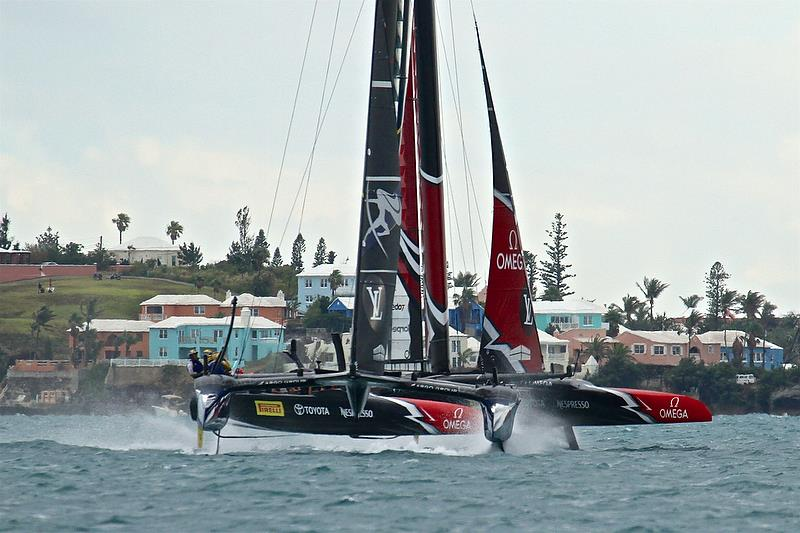 Race 4 - Finals, America's Cup Playoffs- Day 15, June 11, 2017 (ADT) - photo © Richard Gladwell