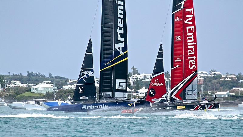 Leg 1 - Race 5 - Finals, America's Cup Playoffs- Day 15, June 11, 2017 (ADT) - photo © Richard Gladwell