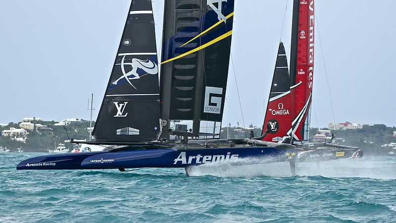Artemis Racing - Leg 4, race 4 - Challenger Finals, Day 15 - 35th America's Cup - Bermuda June 11, 2017 - photo © Richard Gladwell
