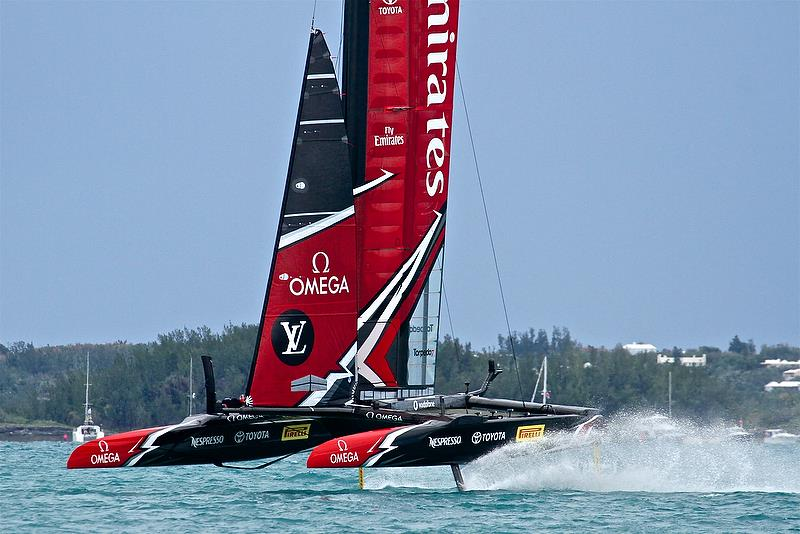 Emirates Team New Zealand - end of Leg 4, Race 5 -Challenger Final, Day 2 - 35th America's Cup - Day 15 - Bermuda June 11, 2017 - photo © Richard Gladwell