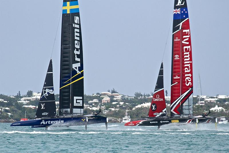 Race 5 - Finals, America's Cup Playoffs- Day 15, June 11, 2017 (ADT) - photo © Richard Gladwell