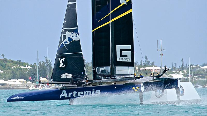 Artemis Racing - Mark 4 - Race 5 - Finals, America's Cup Playoffs- Day 15, June 11, 2017 (ADT) - photo © Richard Gladwell