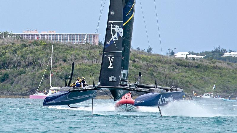 Artemis Racing - Leg 6 - Race 5 - Finals, America's Cup Playoffs- Day 15, June 11, 2017 (ADT) - photo © Richard Gladwell