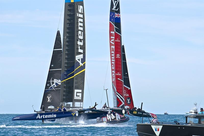 Leg 2 - Race 7 - Finals, America's Cup Playoffs- Day 15, June 12, 2017 (ADT) - photo © Richard Gladwell