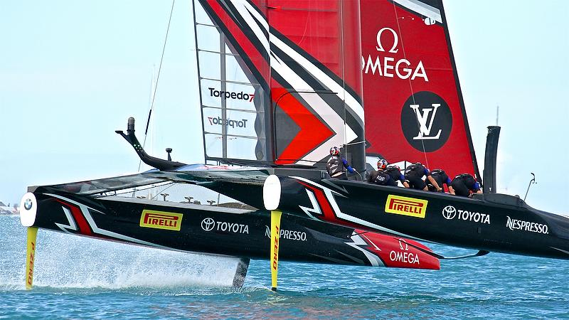 Emirates Team New Zealand - Leg 4 - Race 7 - Finals, America's Cup Playoffs- Day 15, June 12, 2017 (ADT) - photo © Richard Gladwell