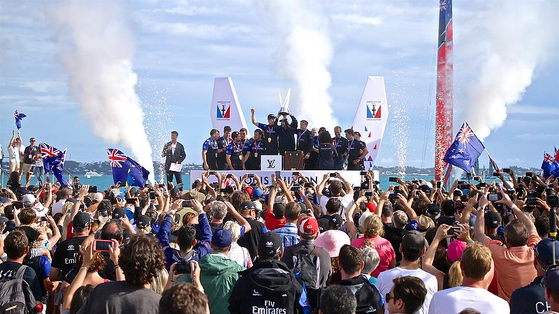 Presentation - Race 7 - Finals, America's Cup Playoffs- Day 15, June 12, 2017 (ADT) - photo © Richard Gladwell