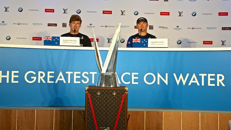 Media Conference - Race 7 - Finals, America's Cup Playoffs- Day 15, June 12, 2017 (ADT) - photo © Richard Gladwell