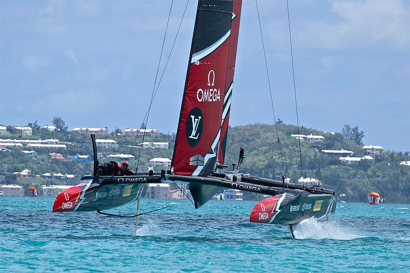 Emirates Team New Zealand - Race 2 Leg 4 - 35th America's Cup Match - Bermuda June 17, 2017 - photo © Richard Gladwell