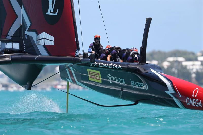 Emirates Team New Zealand pack a low profile during the 35th America's Cup - photo © Emirates Team New Zealand