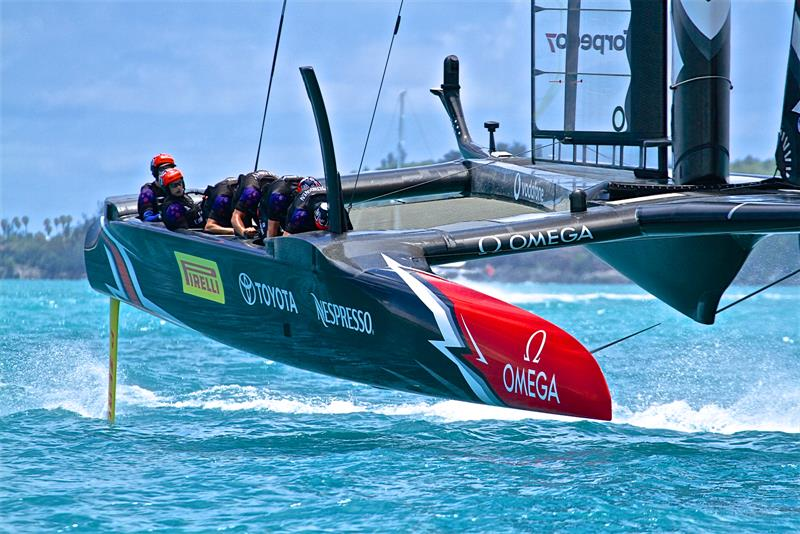 An America's Cup in Auckland with potentially 12 teams is double the size of the AC fleet in Bermuda - photo © Richard Gladwell